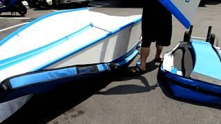 quickboats 摺疊船 快特船 的單人組裝
