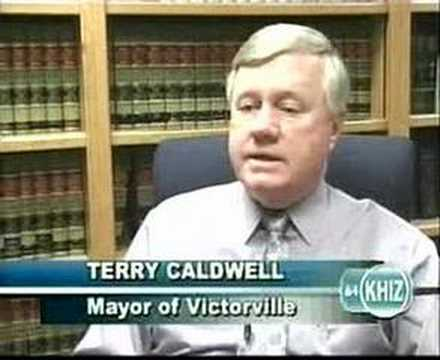 Victorville Mayor Terry Caldwell - 02/02/07