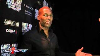 Bernard Hopkins says Canelo Golovkin on our terms!