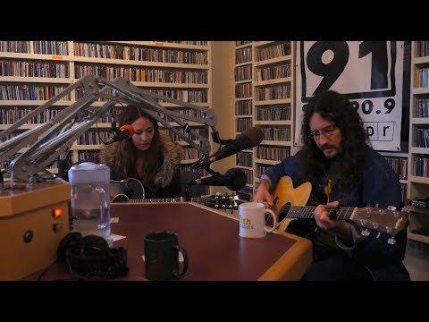 Lauren Barth and Jesse Aycock on KRCB FM Radio 91