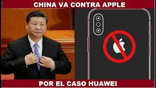 CHINA VA CONTRA APPLE PARA DEFENDER A #HUAWEI #GOOGLE #Android #5G