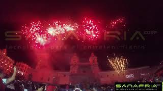 Show Pirotécnico Fiesta de la Luz Quito 2018