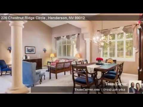 Green Valley Ranch 226 Chestnut Ridge
