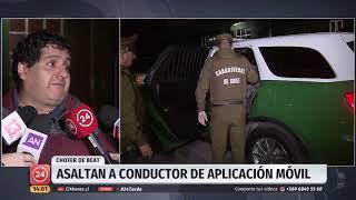 Cuatro detenidos: Asaltan a conductor de aplicación móvil