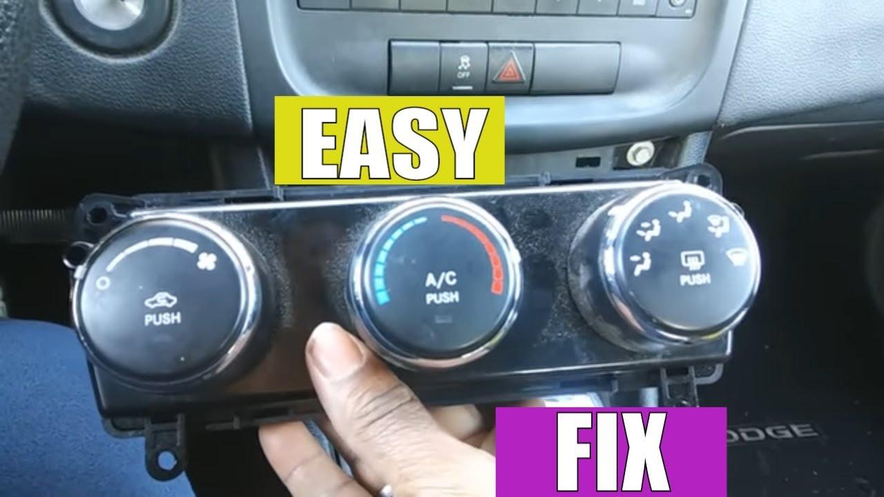 2014 dodge avenger heater problems fix [ 1280 x 720 Pixel ]