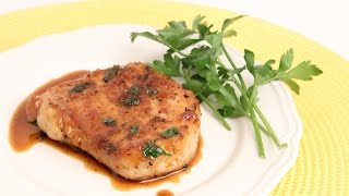 Garlic & Brown Sugar Pork Chops Recipe - Laura Vitale - Laura In The Kitchen Episode 889