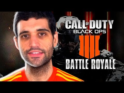 Call of Duty: Black Ops 4 BATTLE ROYALE, pura loucura, COD BO4 Blackout vem aí