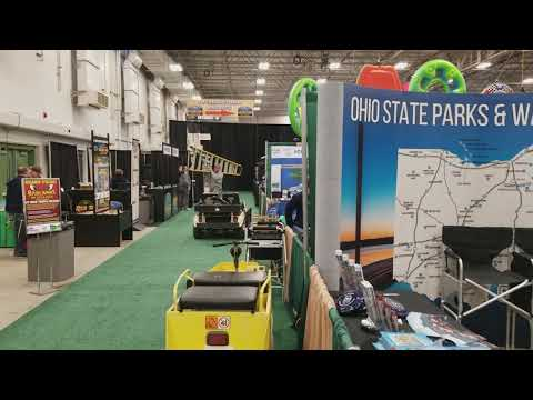 2017.02.16 - Indy Boat Rv and travel show Brook Pointe all setup