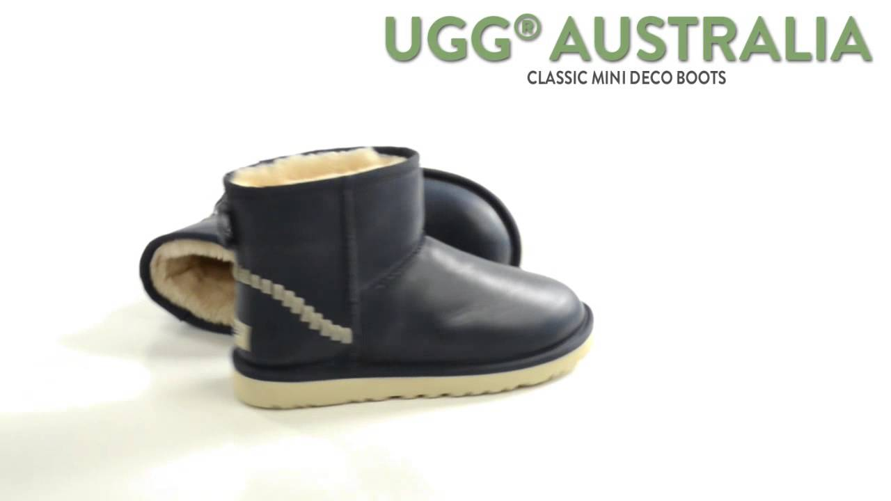 womens mini leather ugg boots