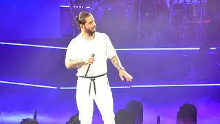 Maluma, Cuatro Babys  Part 1  - 2018 F.a.m.e. Tour  Agganis Arena - Boston, Ma