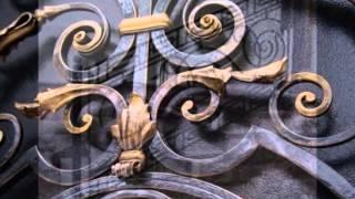 видео кованые изделия, кованые ворота, кованые заборы, кованые перила, решетки на окна, козырьки, уфа