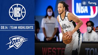 Rookies Terance Mann and Amir Coffey Lead Clippers Past Thunder | Honey Highlights