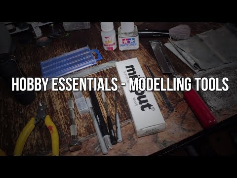 10 Essential Tools For Model Building - Hobby Essentials