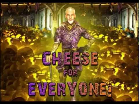 Sheogorath says cheese for 30 minutes