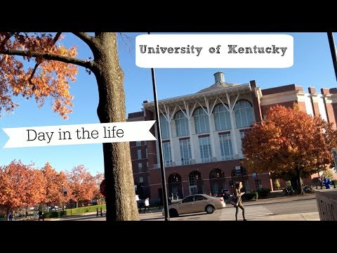 DAY IN THE LIFE | College at University of Kentucky