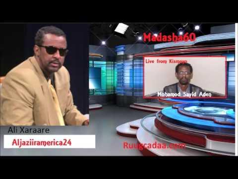 Mohamoud Sayid aden oo kismaayo iska dhiibey wareysi kulul, madasha60