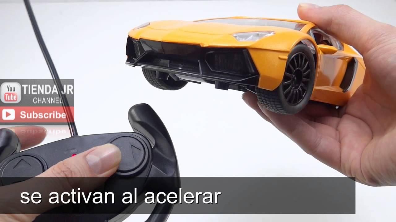 Lamborghini Control Remoto Juguete Para Ninos 5m Alcance Luces Led