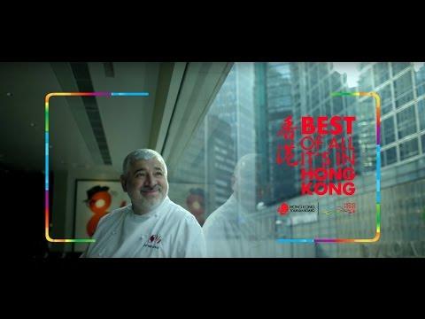 Tasting Hong Kong with Chef Bombana