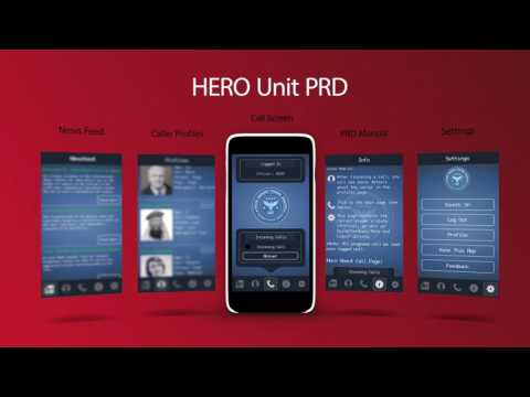 HERO Unit a 911 Dispatch Simulator Text-based Mobile Game