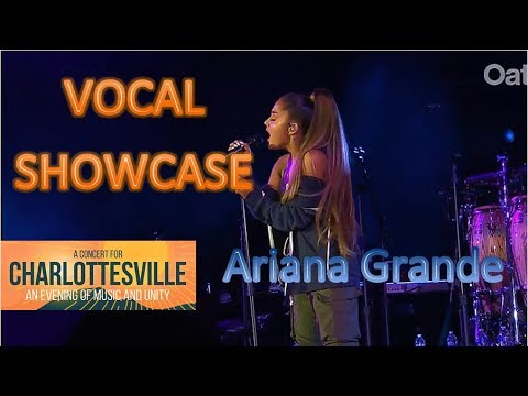 Best Vocals: Ariana Grande at Charlottesville, music and unity charity concert