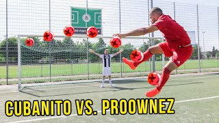 Ronaldo VS Shaqiri Fussball Challenge mit heftiger Bestrafung!!