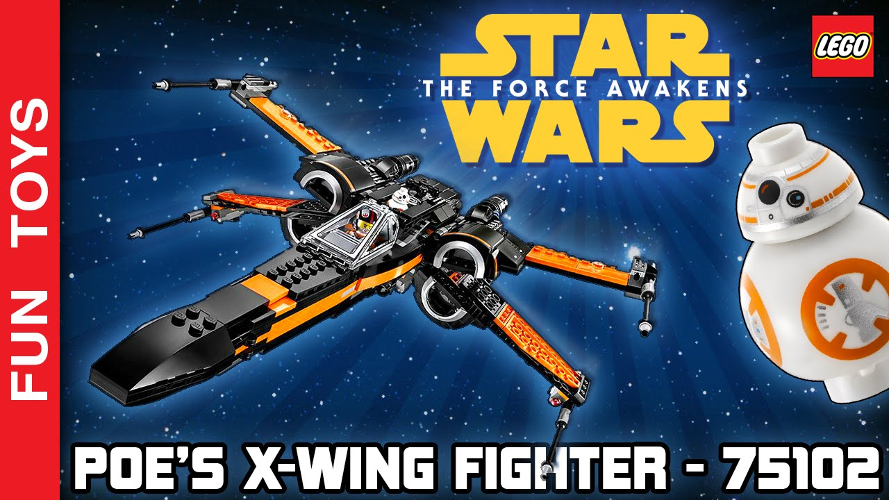 Lego Star Wars The Force Awakens Set Poes X Wing Fighter 75102 Poeamp039s Youtube Premium