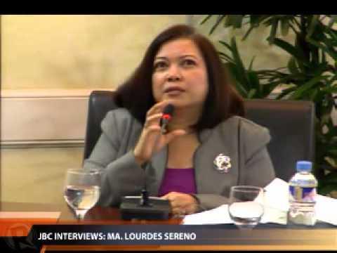 Lagman interviews Sereno (Part 1)