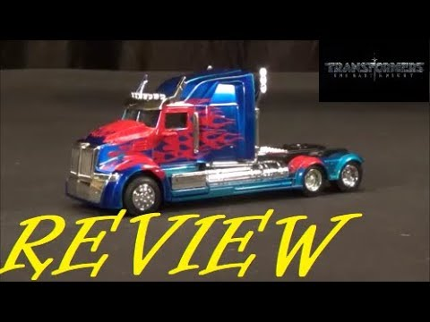 Toy Review: Transformers The Last Knight Metals Diecast Optimus Prime Wester Star / Jada 2017