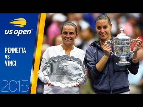 Flavia Pennetta Vs. Roberta Vinci | US Open 2015 Final | Full Match