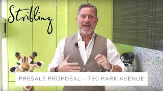 730 Park Avenue -- Pre-Sale Proposal!