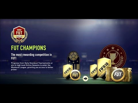 FIFA 18 WEEKEND LEAGUE ROAD TO GOLD 1