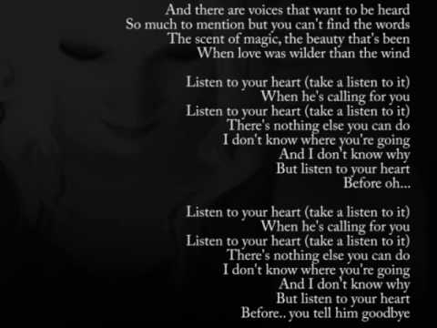 Listen to your heart ~Roxette [clean lyrics]