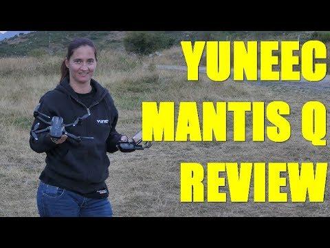 Yuneec Mantis Review Español