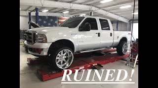 Video 2006 6.0 F250 leveled on american force 24x14 independence wheels download MP3, 3GP, MP4, WEBM, AVI, FLV Maret 2018