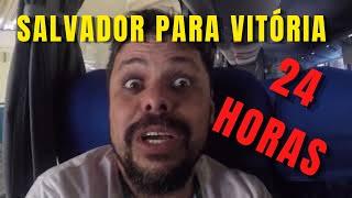 Como é a viagem de ônibus da Bahia para o Espirito Santo
