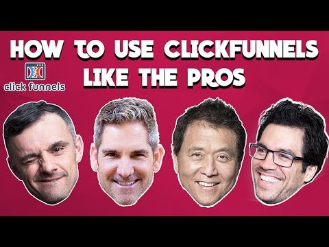 How to use ClickFunnels Like the PROS! Tutorial with Funnel Examples!