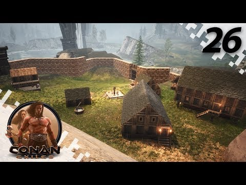 CONAN EXILES: THE FROZEN NORTH - Back To Work! - EP26