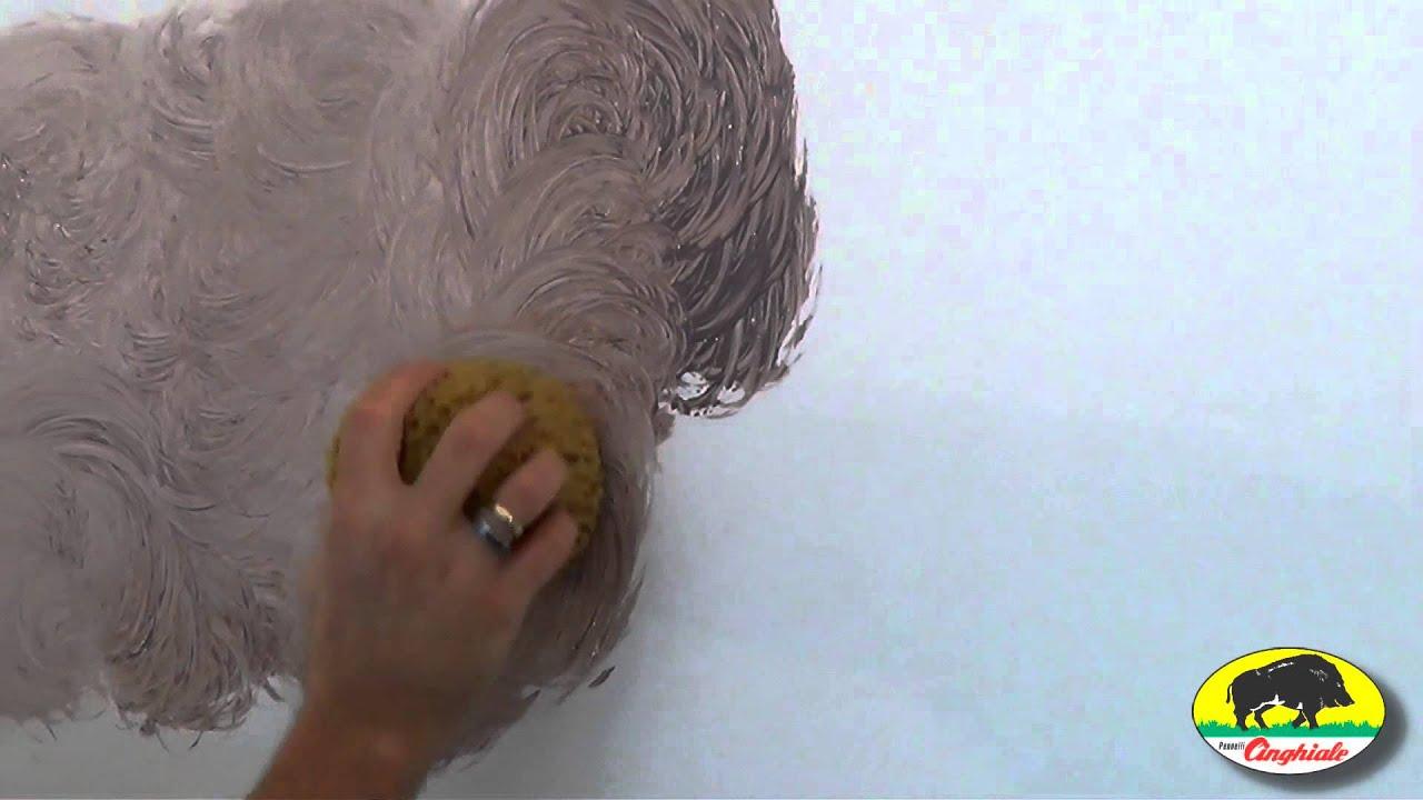 Spugna cinghiale per effetti decorativi imitazione - Effetti decorativi per interni ...