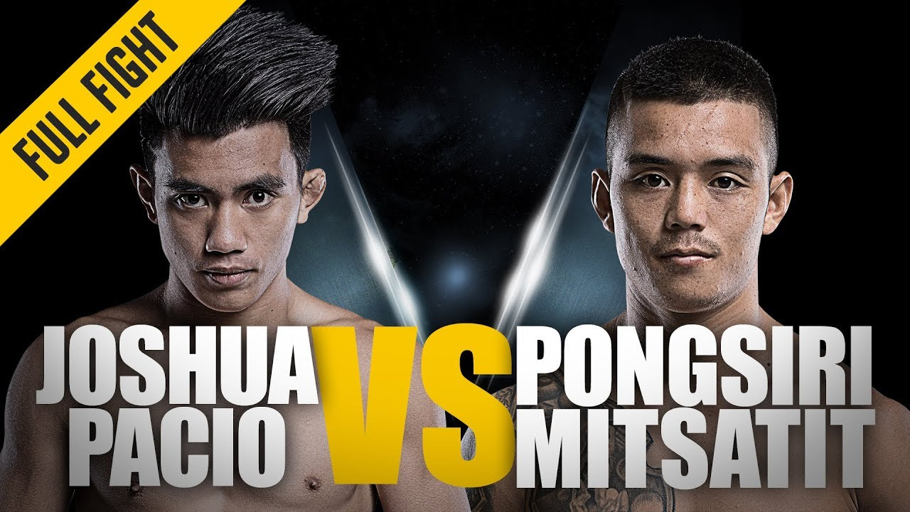 ONE: Full Fight | Joshua Pacio vs. Pongsiri Mitsatit | The Passion Lock | July 2018
