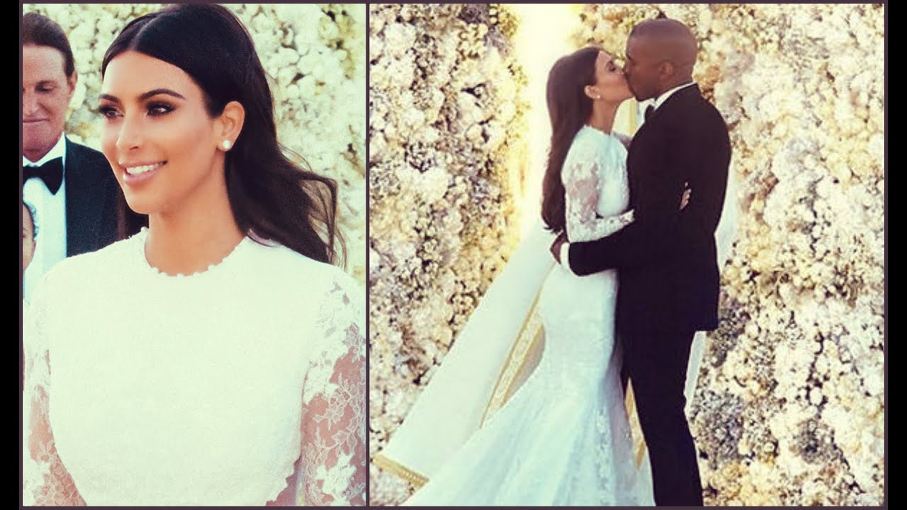 Kim Kardashian Wedding Makeup To Kanye West | Saubhaya Makeup