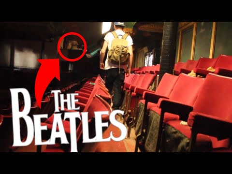 Exploring ABANDONED £1million Theatre - THE BEATLES PLAYED HERE!! ( Found SECRET HIDDEN Community )