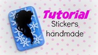Come creare stickers per la resina handmade ☆♡ Coll. Nese Time