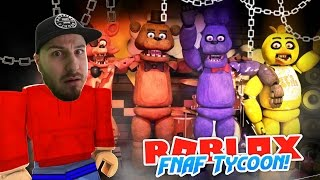 ROBLOX Adventure - I'M SCARED - FNAF PIZZERIA TYCOON!!
