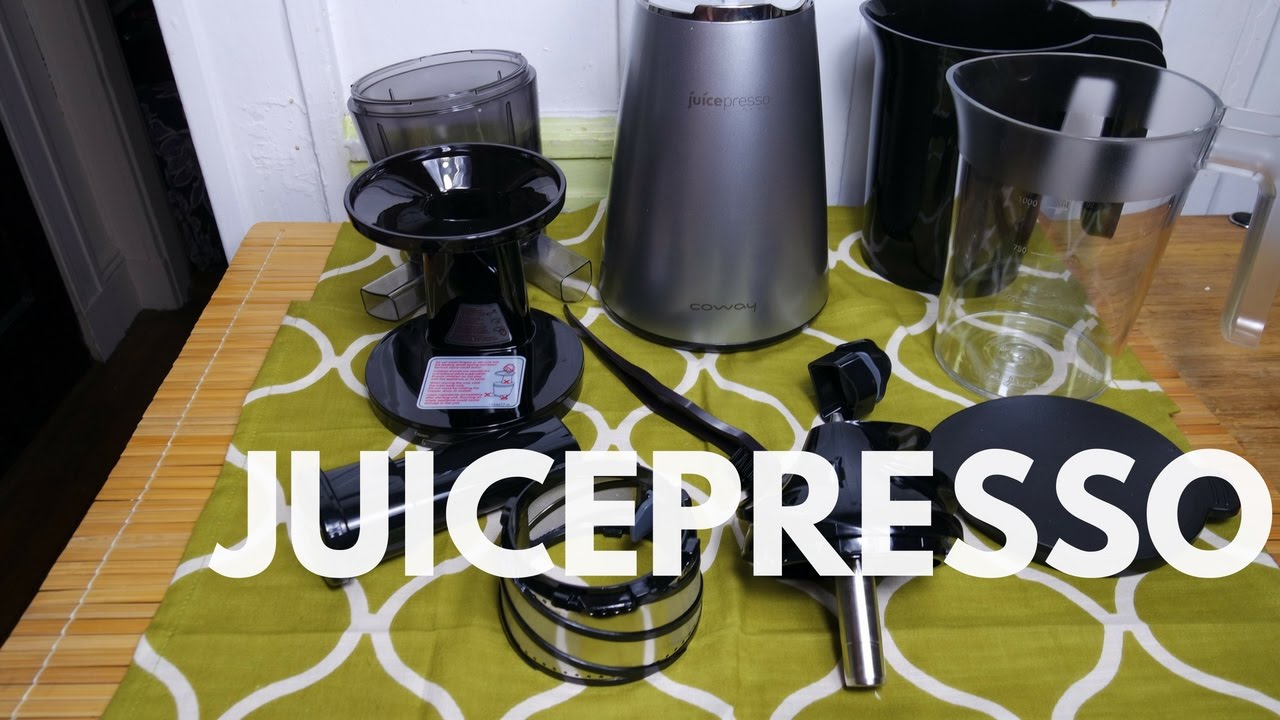 Juicepresso Platinum Juicer   The Worldu0027s Quiestest Juicer???