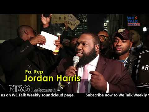 Pa. Rep. Jordan Harris says there's a Bigger issue #FreeMeekMill