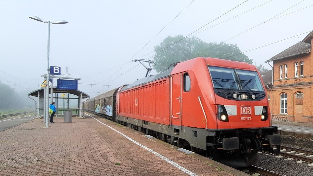 Umleiter in Emmerthal Teil 1: Güterzugverkehr mit DB-Standard-Loks der Baureihen 185 & 152