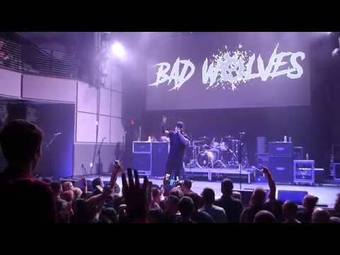 Bad Wolves performing Zombie at Aura in Portland Maine June 13th 2018
