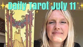 Daily Tarot July 11, 2018 ~ A Slow Release Celebration