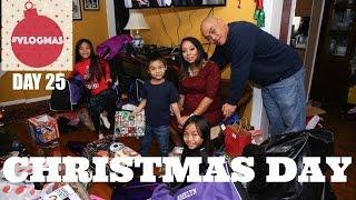 Christmas Day & NEW Vlog Camera! #VLOGMAS 2015 Day 25 | #TeamYniguezVlogs wk 157 | MommyTipsByCole
