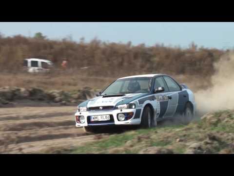R. Dąbrowski / M. Jabłoński Subaru Impreza - 5 runda szutrowy PTS  Puchar Tor Słomczyn 01-10-2016